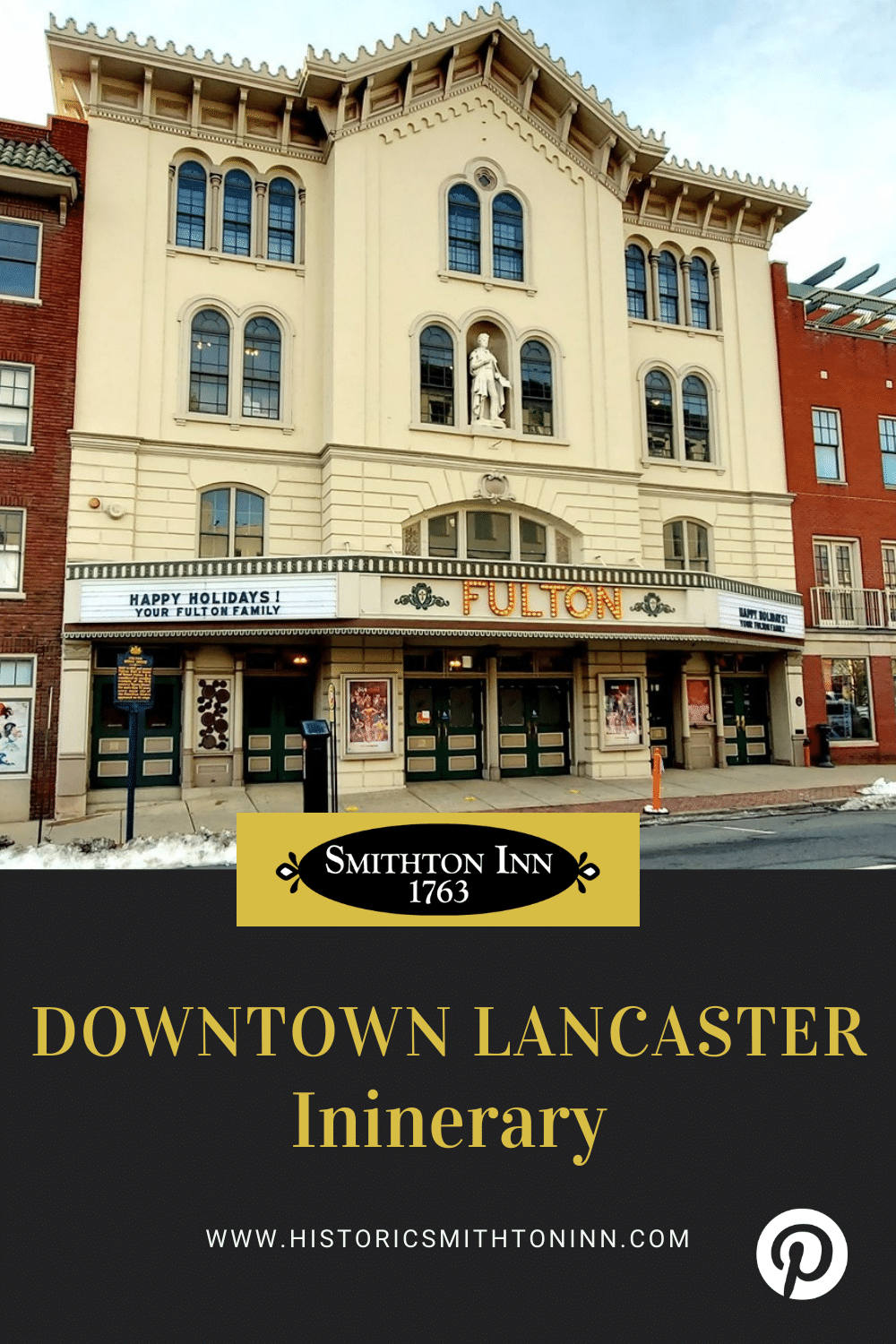 9 Things to Do in Downtown Lancaster PA, Historic Smithton Inn