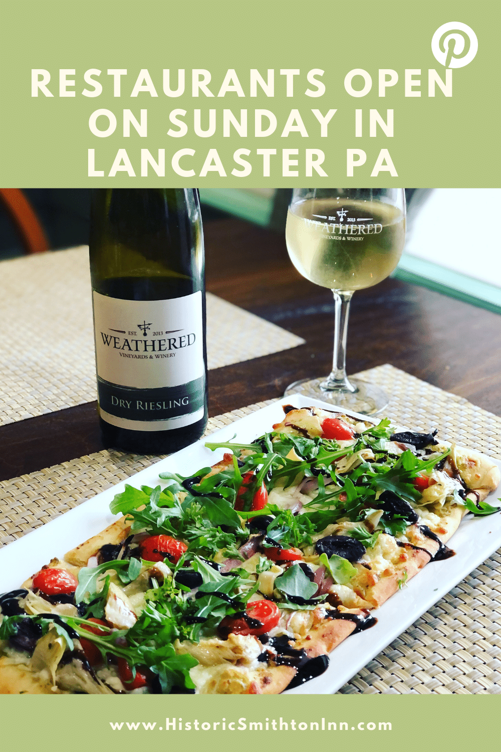 25 Places to Eat in Lancaster PA on Sunday and Monday, Historic Smithton Inn