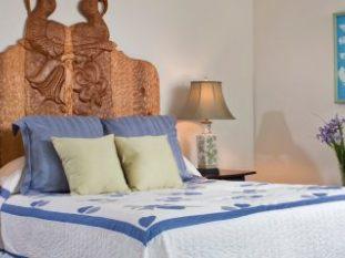 Sage Room bed