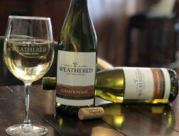 Chardonnay bottles