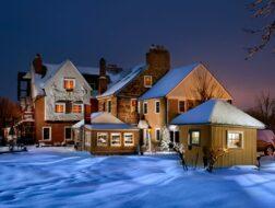 Smithton Inn - winter snow
