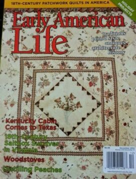 magazine cover early american life