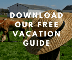 straw hat on a fence - download our free vacation guide (8)