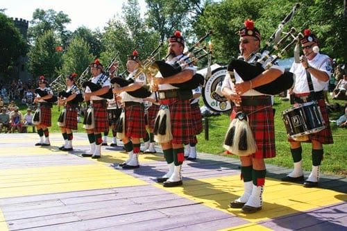 Bagpipes at Mt. Hope Estate & Winery's Celtic Fling