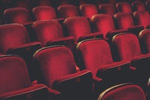 Theater seats at Ephrata Performing Arts Center